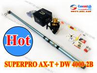 Bộ cần câu lục xa bờ Superpro 360AX-T + Máy Daiwa SWEEPFIRE 4000-2B Chính hãng