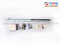 COMBO bộ cần câu máy đặc shimano 2.1m + máy câu Yolo QFB5000 8 bill