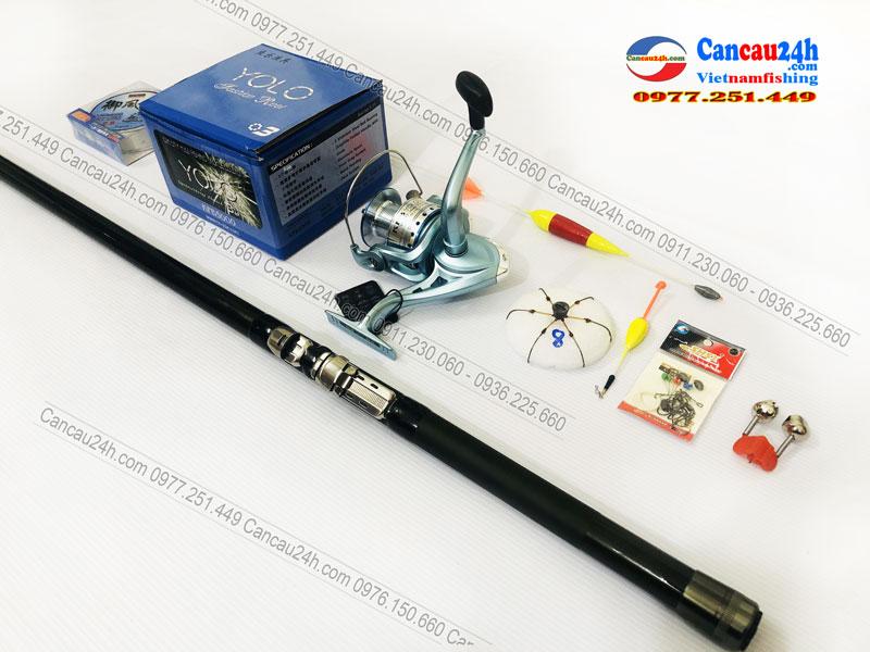 Bộ cần câu lục Xa Bờ Superpro BX-T 360-390-420 + Máy câu KFB5000 Trọn Bộ