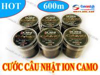 Cước câu cá Nhật Chính Hãng Ion Power CAMO, Cước câu lục Chất lượng tốt