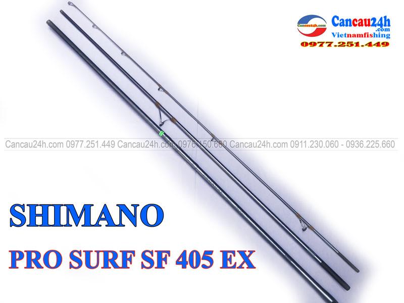 Cần câu nhật bãi shimano Pro Surf SF 405EX, cần câu đã qua sử dụng