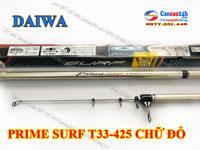 Cần câu cá Daiwa Prime Surf T33-425 Chữ Đỏ, Prime Surf Chữ đỏ 425BXT