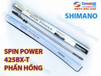Cần Câu Shimano Spin power 425 BX-T, Spin Power phấn Hồng 425 BX-T