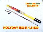 Cần câu ISO HOLYDAY R 1.5-530, Cần câu bãi nhật shimano