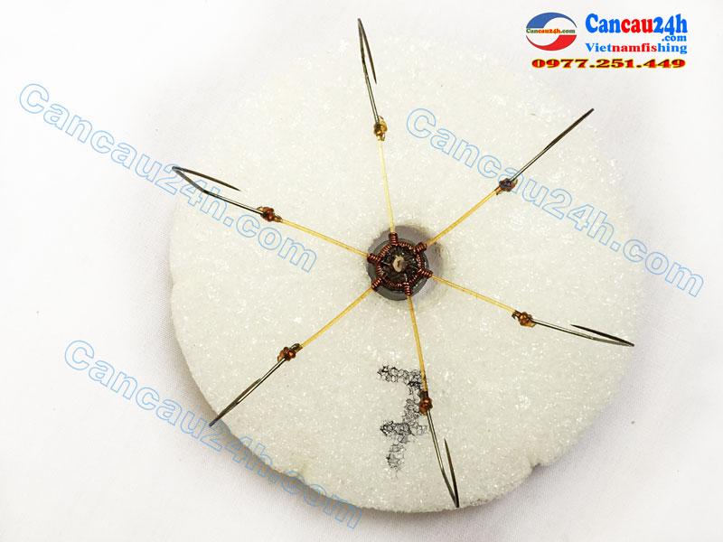 Lưỡi câu lục bềnh 7 dáng Mác, Lưỡi lục bềnh 7 giá rẻ tại Hà Nội