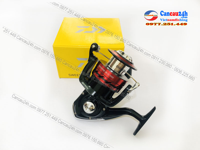 Máy câu cá Daiwa Sweepfire 2B CS 5000, máy câu cá SWEEPFIRE 5000-2B