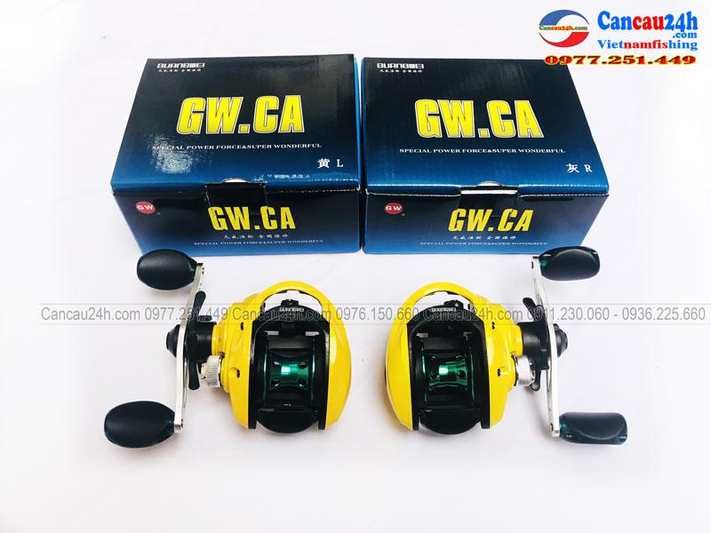 Máy câu cá ngang GW Guangwei GW.CA tay trái và tay phải