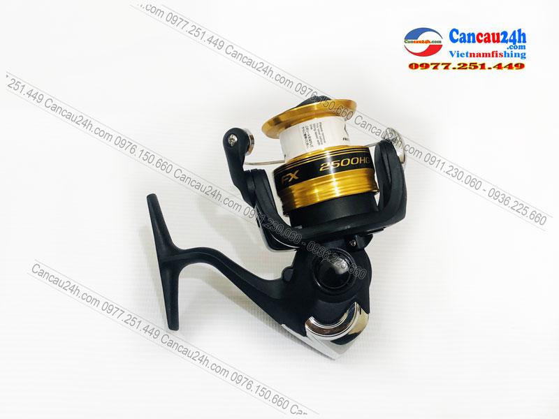 Máy câu cá Shimano FX2500HG, Máy câu FX2500 HG mẫu mới 2020