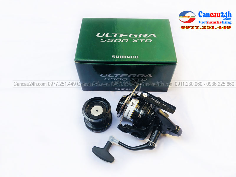 Máy câu cá Shimano Ultegra 5500XTD, SMN Ultegra 5500XTD Chính hãng