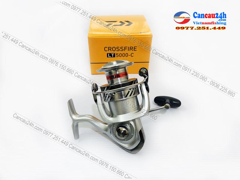 Máy câu cá Daiwa CrossFire LT5000-C, máy câu cá Crossfire LT5000C