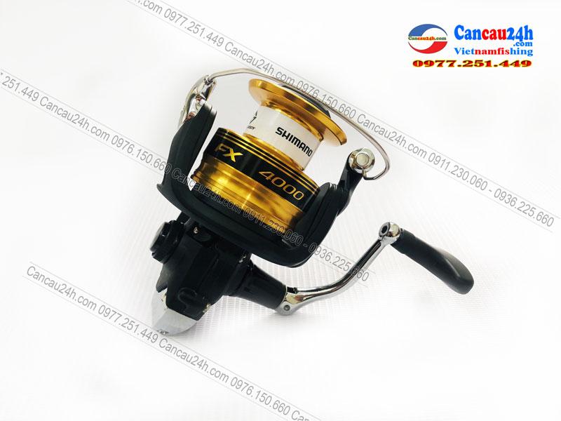 Máy câu cá Shimano FX4000FC, Máy Shimano FX4000 mẫu mới 2020 Chính hãng