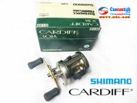 Máy câu cá ngang Shimano CARDIFF 301A, máy ngang tay trái shimano