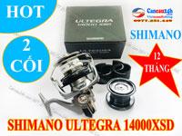 Máy câu cá Shimano Ultegra 14000XSD 2 Lô Nông Thoát cước chính hãng Nhật Bản