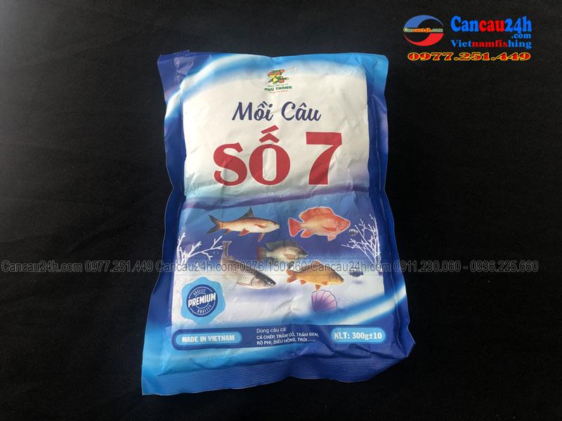 Mồi câu cá Phú Thành Số 7
