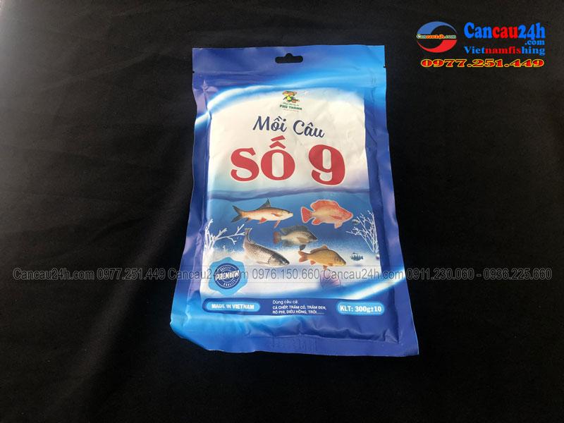 Mồi câu cá Phú thành sô 9