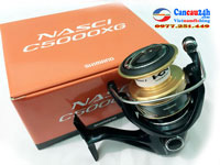 Máy câu Shimano Nasci C5000XG, máy câu cá shimano Nasci C5000