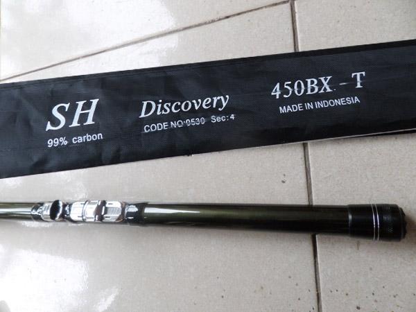 Cần câu cá sh Discovery 4.25 BX-T
