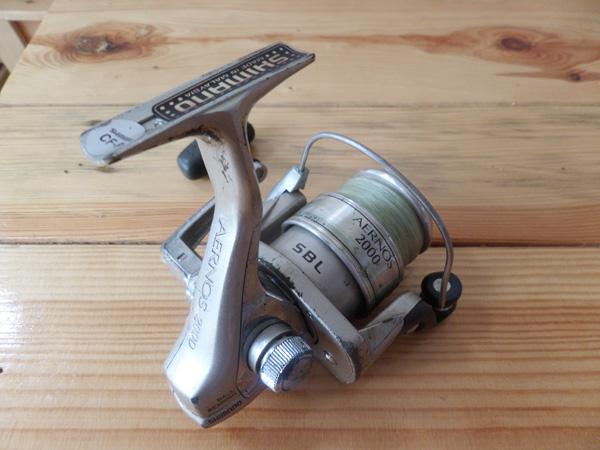Máy câu cá bãi shimano AERNOS 2000