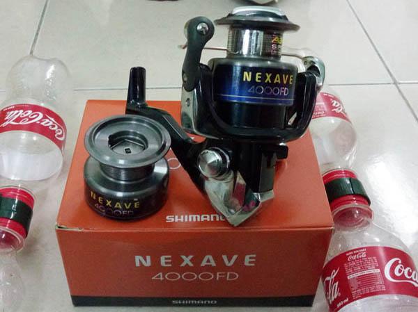 Máy câu cá Shimano Nexave 4000FD, máy câu shimano 4000