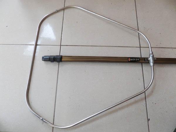 Vợt câu cá vành tam giác dài 3m