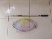 Vợt i nốc, Vợt câu cá i nốc, Vợt bắt cá dài 2.5m tại Hà Nội