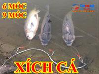 Dây Xích Cá - Cáp Xích Cá 6 Móc- 9 móc Xích cá câu lục Cancau24h.com