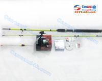 Bộ cần câu cá Lancer 2.1m Máy câu cá shimano fx4000FB giá rẻ