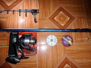 Bộ cần câu cá Superpro 420 CXT, cần câu superpro, đồ câu cá Hà Nội