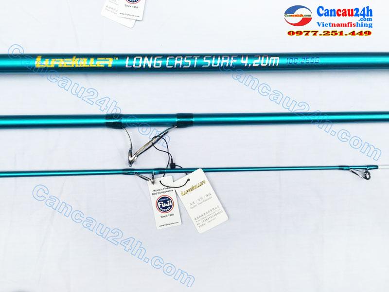 Cần câu cá SAGAMI 3 Khúc Longcast surf 420BX