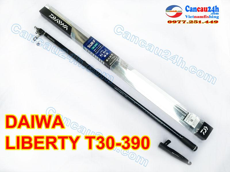 Cần câu cá Daiwa Liberty Club Surf T30-390, cần câu Liberty T30-390