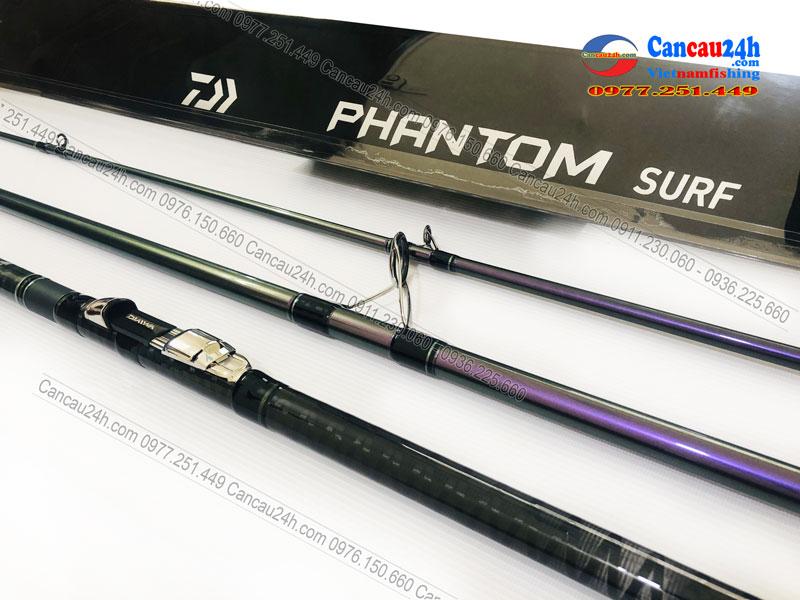 Cần câu 3 khúc Daiwa Phantom T33-425, cần câu cá Phantom 425BX câu lục xa bờ