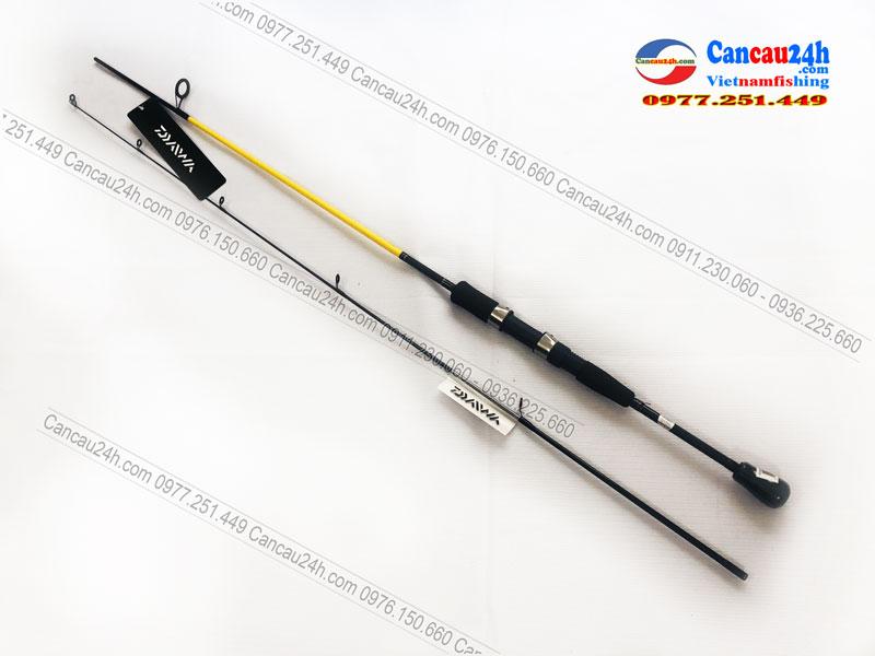 Cần câu Lure cá lóc Daiwa CrossFire 662MS, Cần câu mồi giả máy đứng