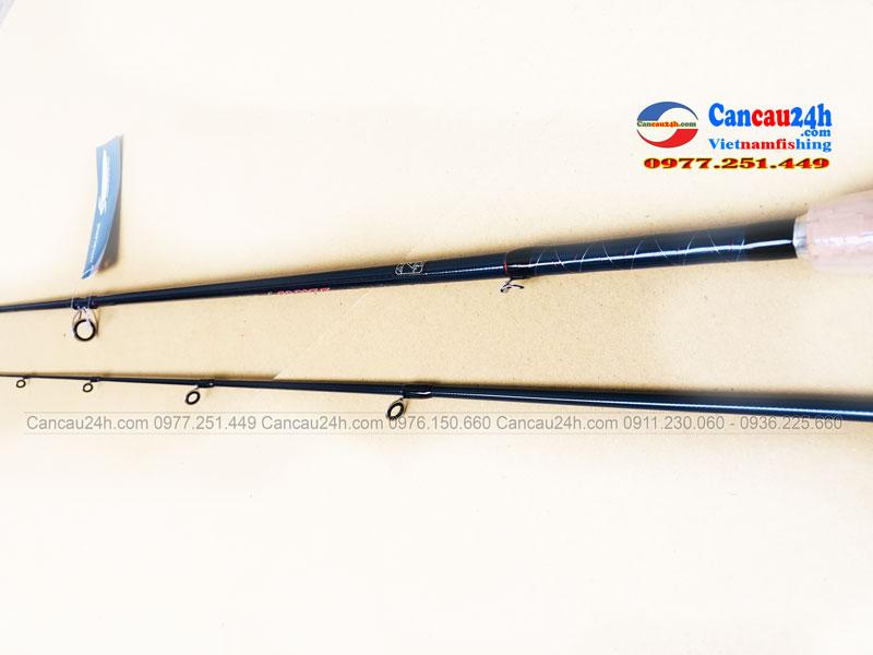 Cần câu máy ngang Cardiff 70M dài 2.1m chuyên câu cá lóc