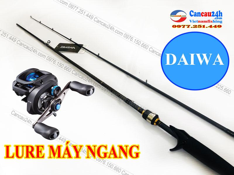 Cần câu cá lóc máy ngang Daiwa AIRD X 702MHFB, cần câu máy ngang Daiwa