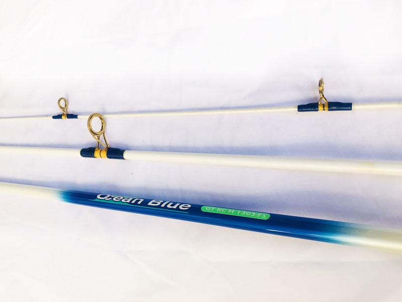 Cần câu nhật bãi 3 khúc Ocean Blue GT KC H 1303-FS khoen GOld