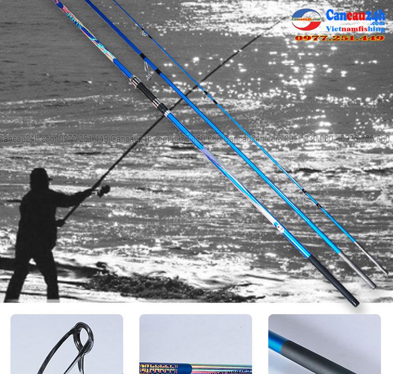 Cần câu biển 3 khúc hạng nặng JET SURF 420 BX
