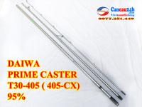 Cần câu nhật 3 khúc Daiwa Prime caster T30-405, cần câu 3 khúc 405 CX