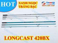 Cần câu cá SAGAMI 3 Khúc Longcast surf 420BX-T, LONGCAST SURF 4.2M bx
