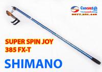 Cần câu cá Shimano Super Spin Joy 385FX-T, Shimano Spin Joy 3.85 FX-T