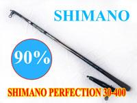 Cần câu lục nhật bãi Shimano Perfection 30-400, cần câu bãi nhật bản 400CXT