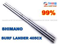 Cần câu nhật cũ shimano surf Lander 405CX, cần câu cũ giá rẻ