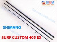 Cần câu nhật bãi shimano 3 khúc Surf Custom 405EX
