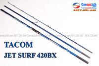 Cần câu biển 3 khúc hạng nặng JET SURF 420 BX tải chì 250g