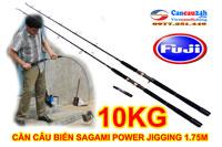 Cần câu biển Sagami Power JIGGING 1.75M