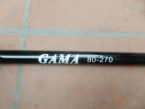 cần câu cá Ba Tiêu Gama 2.7m