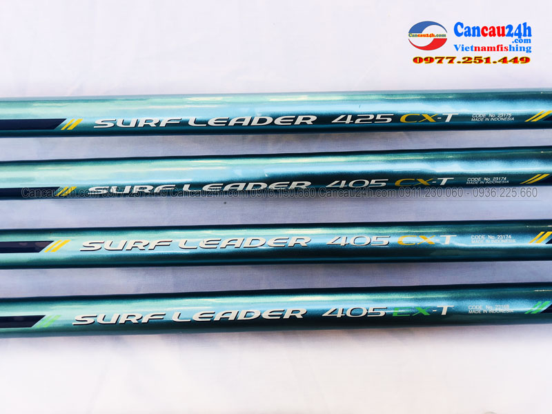 Cần câu shimano Xanh Ngọc Surf Leader 405EXT, 405CXT, 425CXT