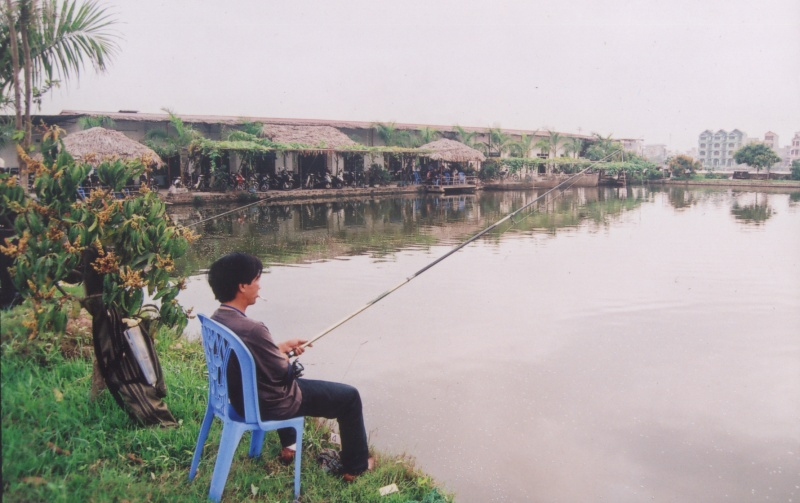 Hồ câu Lý Sơn