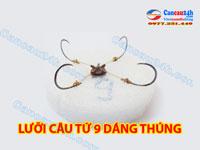 lưỡi câu tứ 9, lưỡi câu cá, chuyến sản xuất lưỡi câu lục tại Hà Nội
