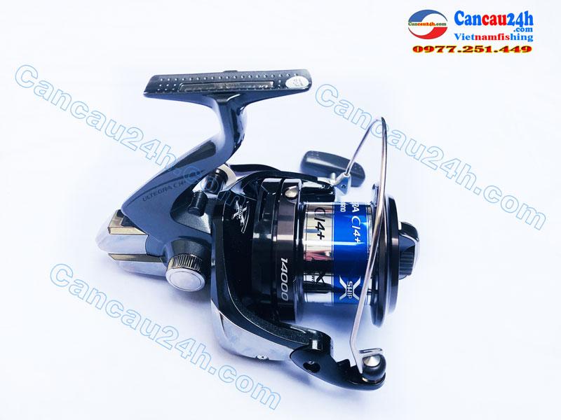Máy câu cá Shimano Ultegra CI4 14000XTB, máy câu ultegra CI4+ 14000XTB ( 3 lô Cước )