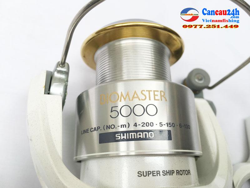 Máy câu nhật bãi shimano Biomaster 5000